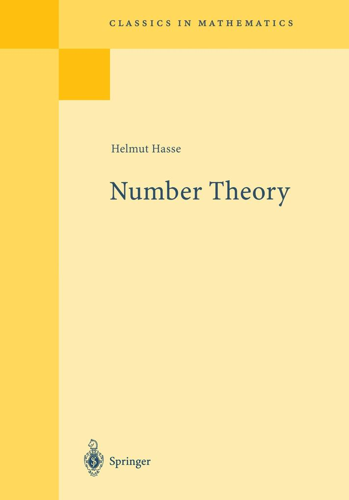 Number Theory als Buch