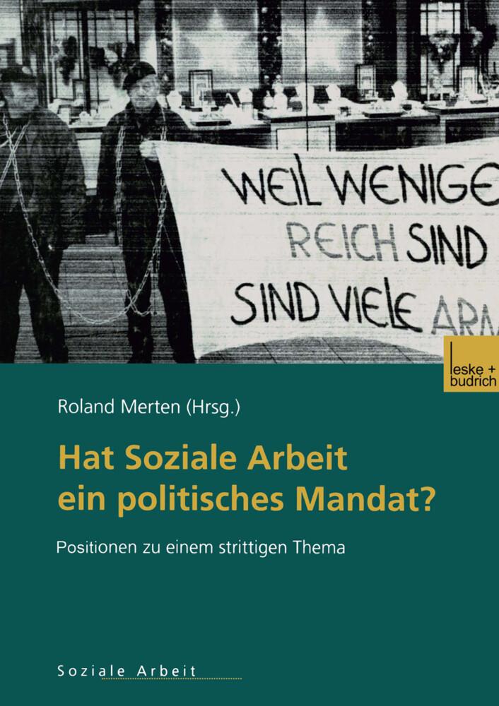 Hat Soziale Arbeit ein politisches Mandat? als Buch