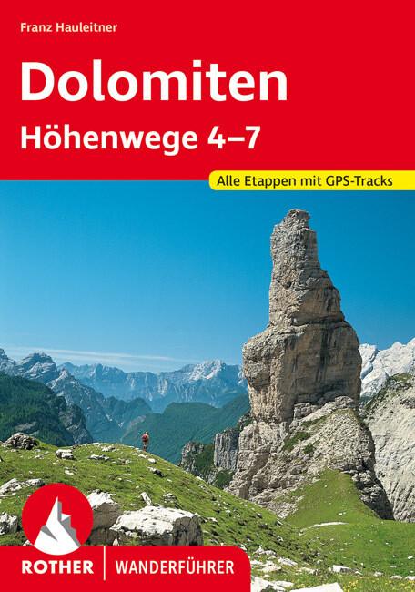 Dolomiten Höhenwege 4-7 als Buch