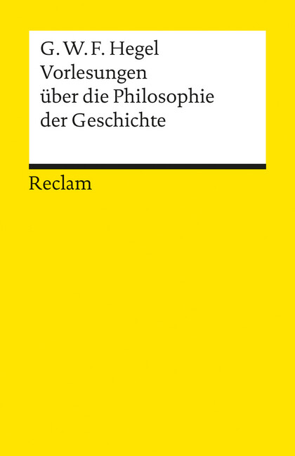 Vorlesungen über die Philosophie der Geschichte als Taschenbuch