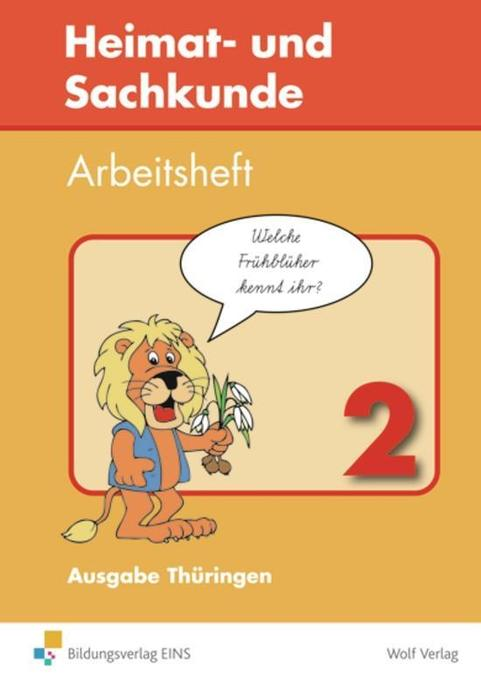 Heimat- und Sachkunde 2. Arbeitsheft. Thüringen als Buch