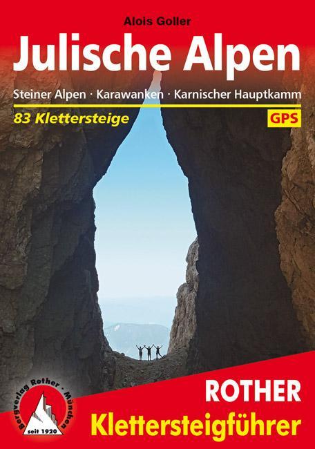 Klettersteige Julische Alpen als Buch