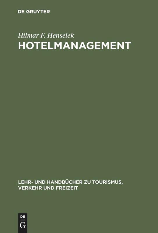 Hotelmanagement als Buch