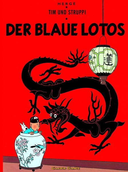 Tim und Struppi 04. Der Blaue Lotos als Buch