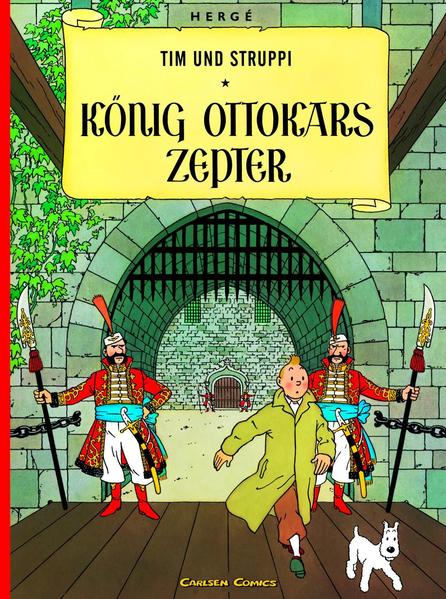 Tim und Struppi 07. König Ottokars Zepter als Buch