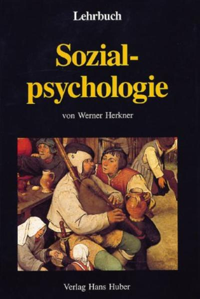 Lehrbuch Sozialpsychologie als Buch