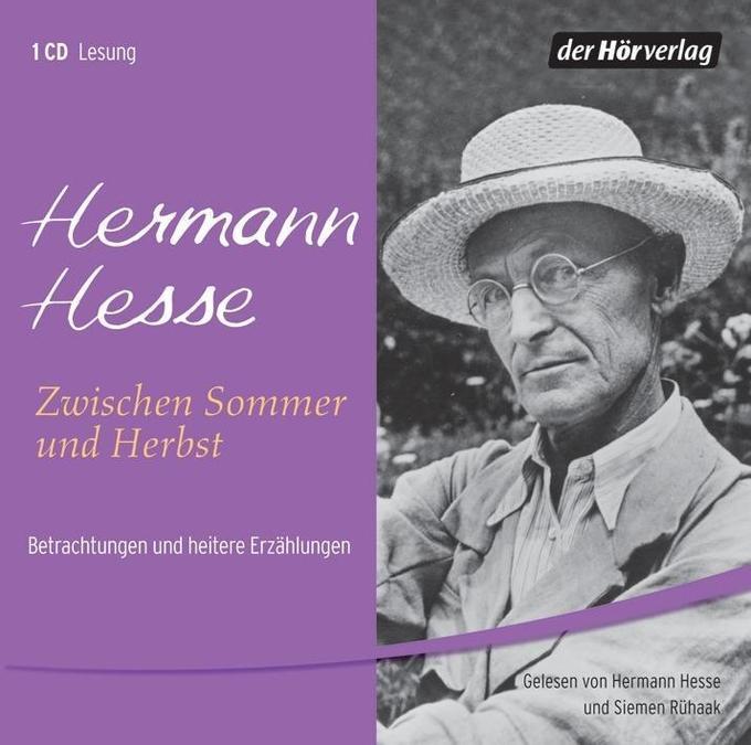 Zwischen Sommer und Herbst. CD als Hörbuch