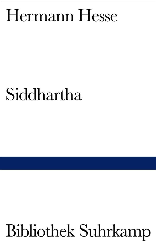 Siddhartha als Buch von Hermann Hesse