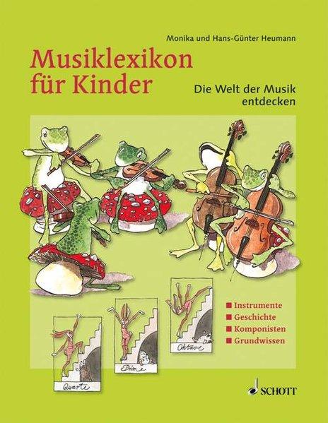 Musiklexikon für Kinder als Buch