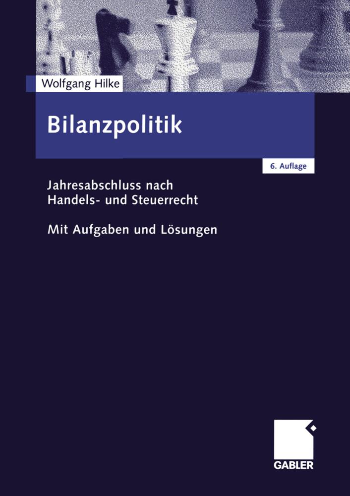 Bilanzpolitik als Buch