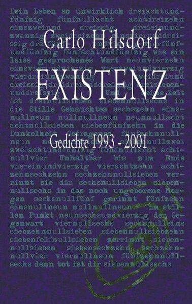 EXISTENZ - Gedichte 1993 - 2001 als Buch