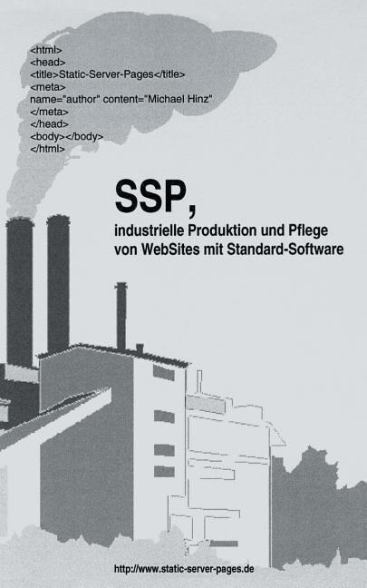 SSP, industrielle Produktion und Pflege von WebSit als Buch