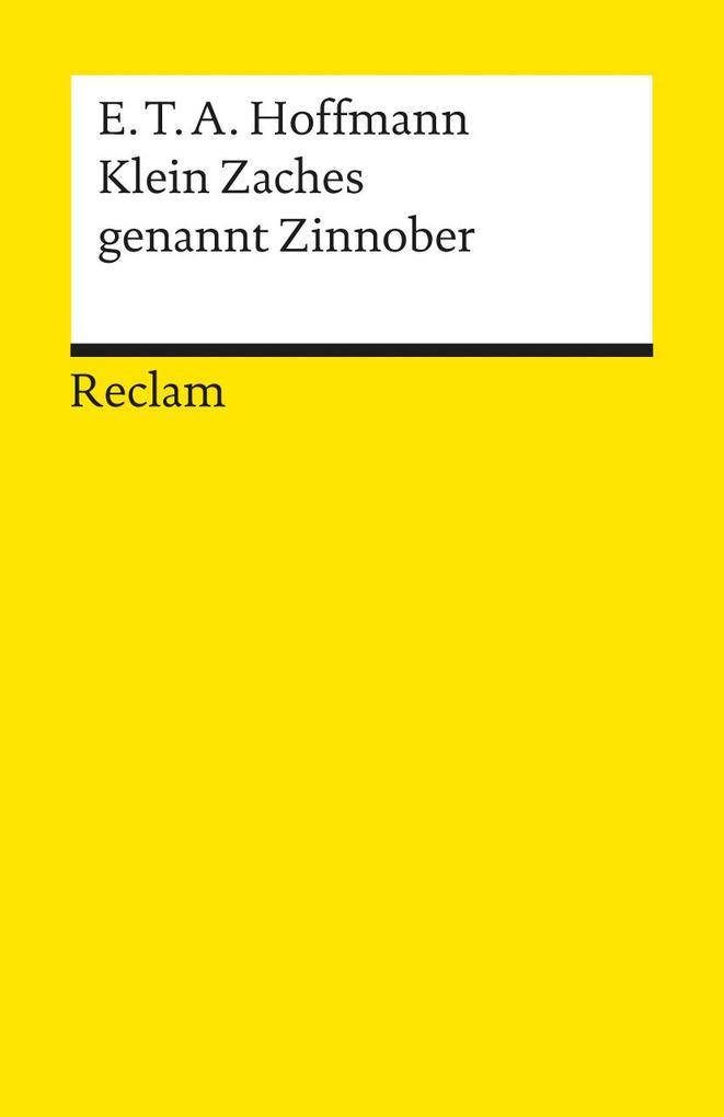 Klein Zaches genannt Zinnober als Taschenbuch