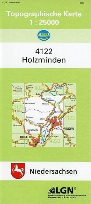 Holzminden 1 : 25 000. (TK 4122/N) als Buch