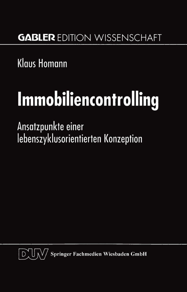 Immobiliencontrolling als Buch
