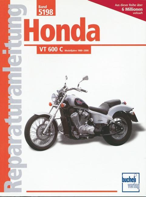 Honda VT 600 C als Buch