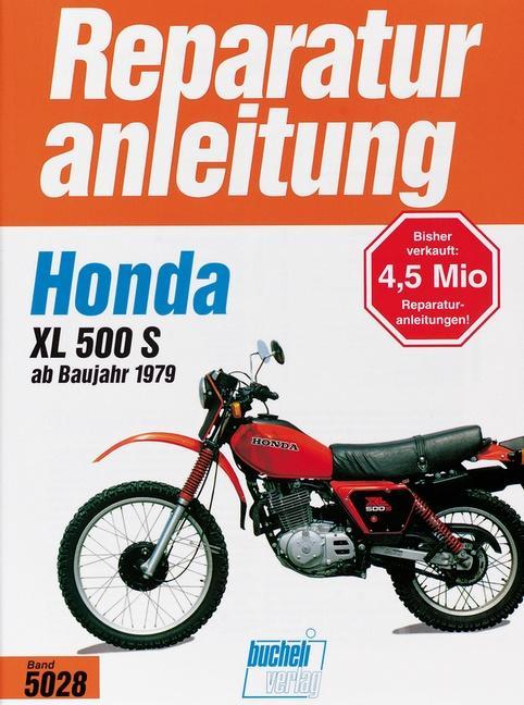 Honda XL 500 S als Buch