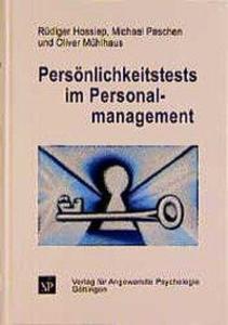 Persönlichkeitstests im Personalmanagement als Buch