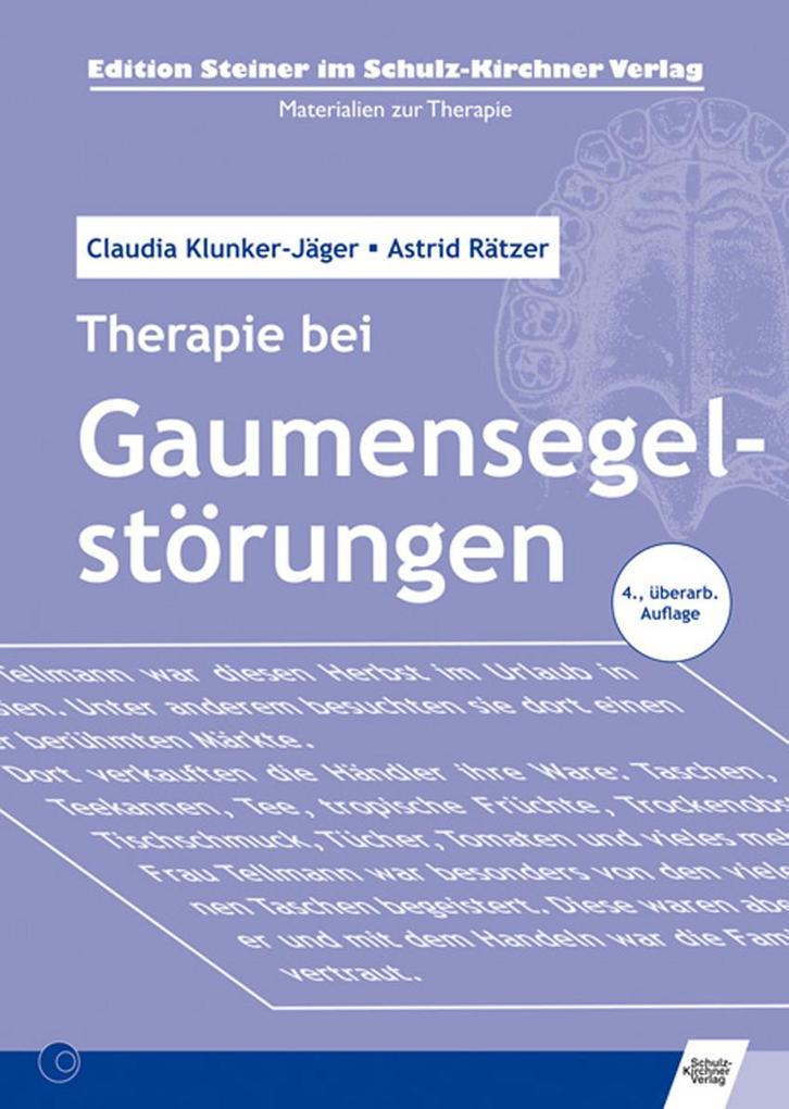 Therapie bei Gaumensegelstörungen als eBook