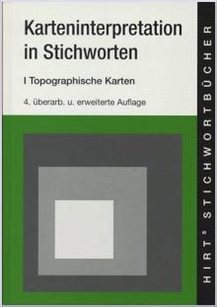 Karten-Interpretationen in Stichworten 1 als Buch