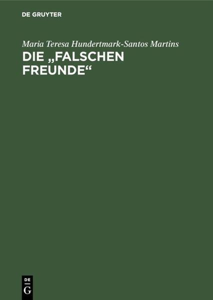 Falsos Amigos /Falsche Freunde als Buch