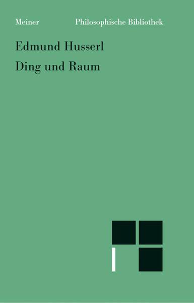 Ding und Raum als Buch