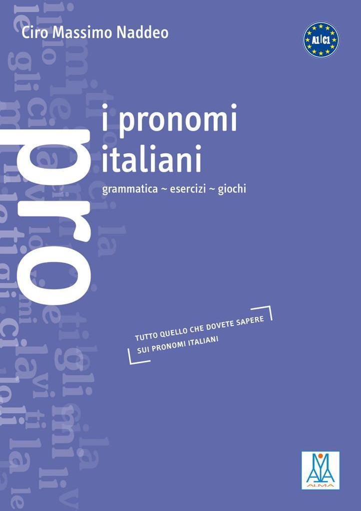I pronomi italiani als Buch