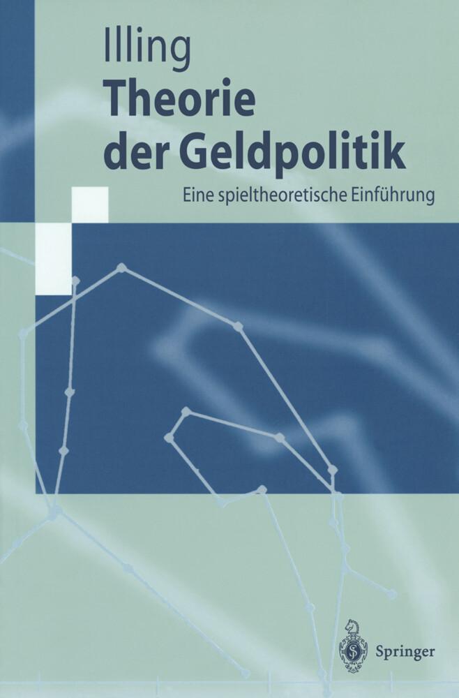 Theorie der Geldpolitik als Buch