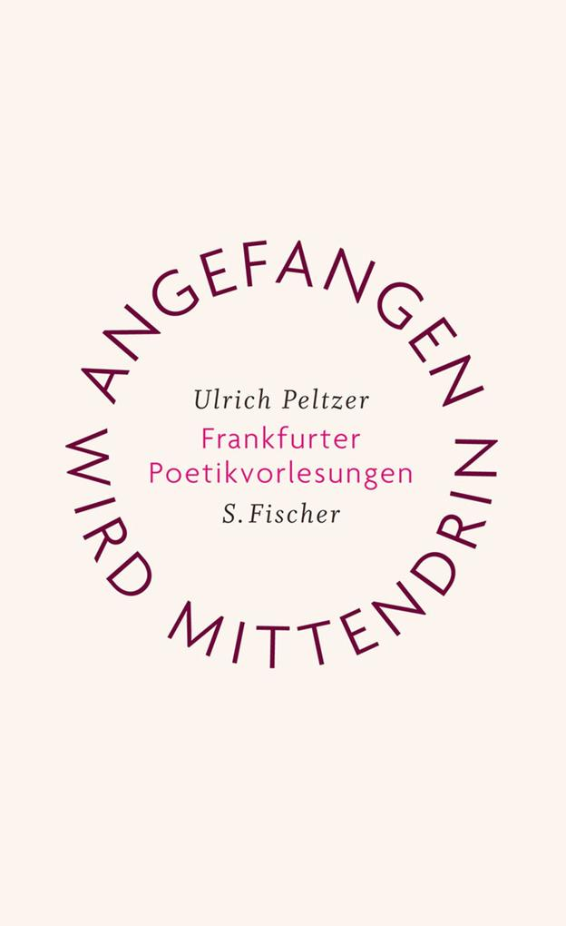Angefangen wird mittendrin als Buch von Ulrich Peltzer
