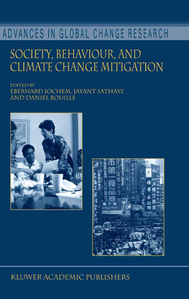 Society, Behaviour, and Climate Change Mitigation als Buch von - Springer Netherlands