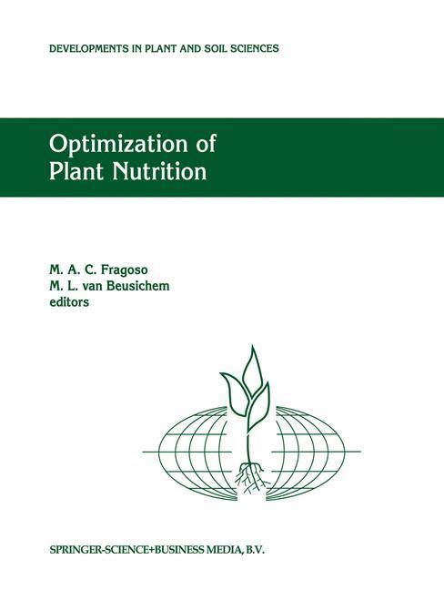 Optimization of Plant Nutrition als Buch von - Springer Netherlands