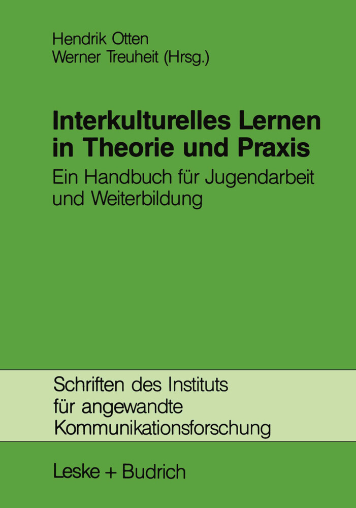 Interkulturelles Lernen in Theorie und Praxis als Buch
