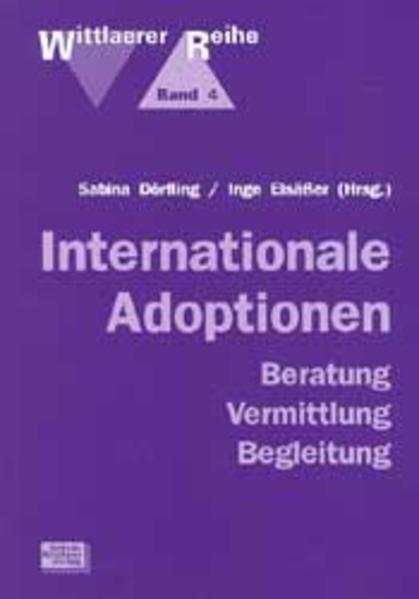 Internationale Adoptionen als Buch