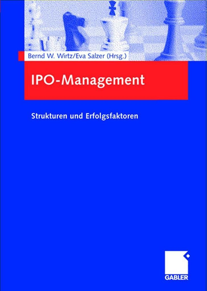 IPO-Management als Buch