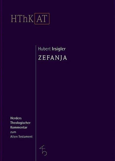 Zefanja als Buch