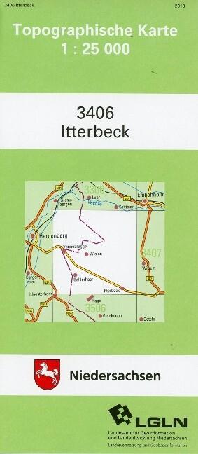 Itterbeck 1 : 25 000. (TK 3406/N) als Buch