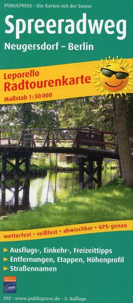 Stuttgart, Fildergebiet - Rems- und Filstal. Rad- und Wanderkarte 1 : 50 000 als Buch