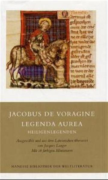 Legenda aurea als Buch (gebunden)