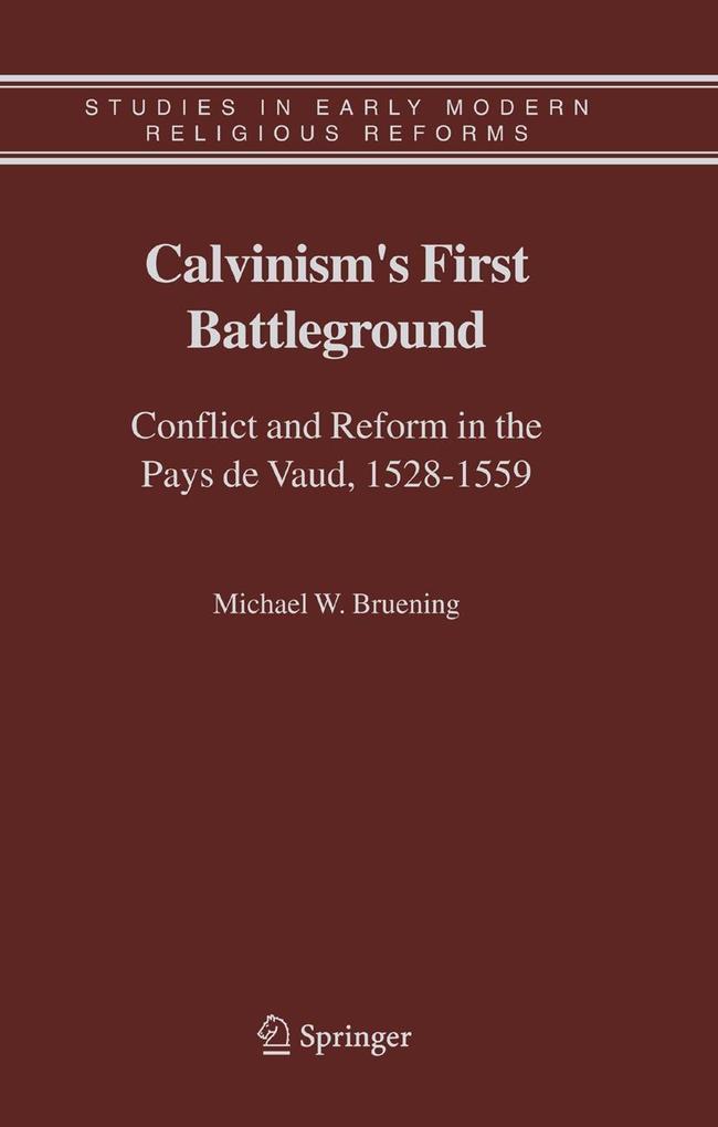 Calvinism's First Battleground als Buch