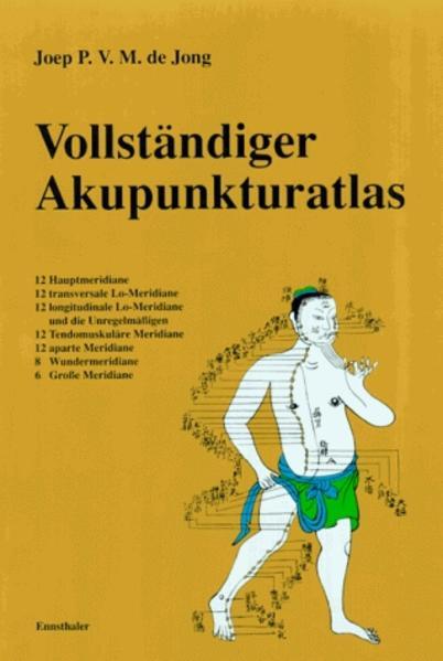 Vollständiger Akupunkturatlas als Buch