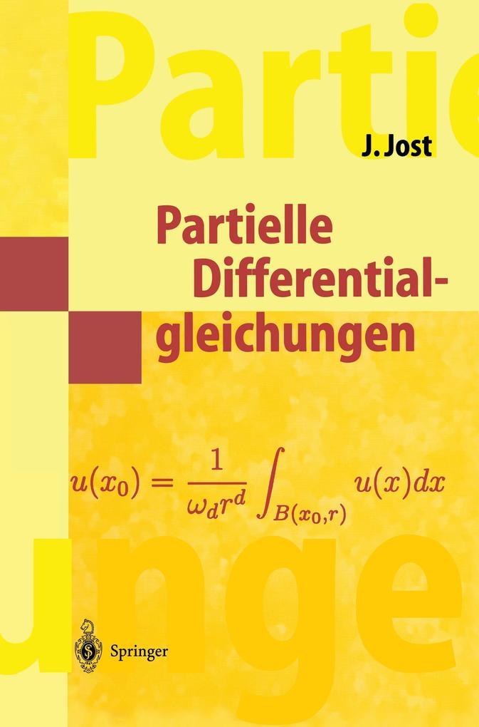 Partielle Differentialgleichungen als Buch
