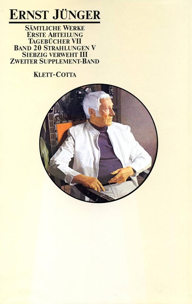 Tagebücher VII. Strahlungen V. Siebzig verweht III. 2. Supplement-Band als Buch