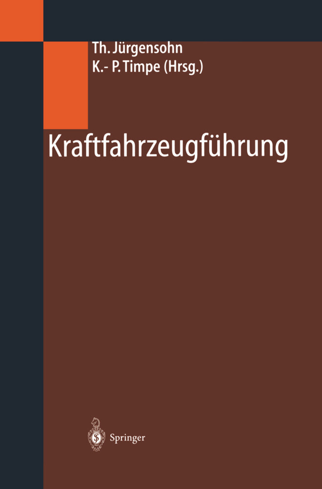 Kraftfahrzeugführung als Buch