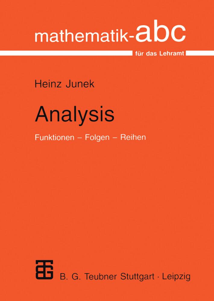 Analysis als Buch (kartoniert)