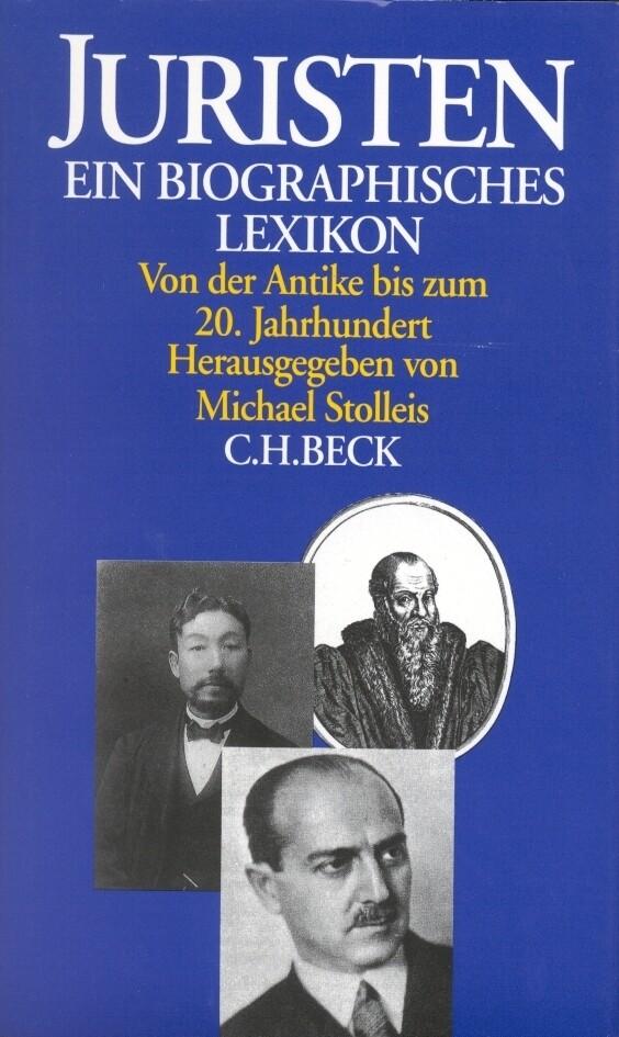Juristen. Ein biographisches Lexikon als Taschenbuch
