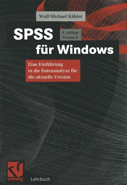 SPSS für Windows als Buch