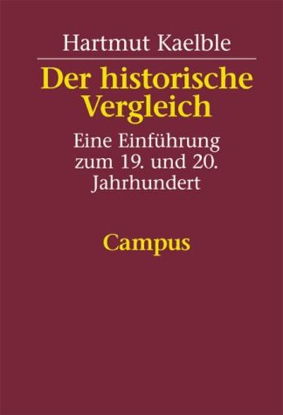 Der historische Vergleich als Buch