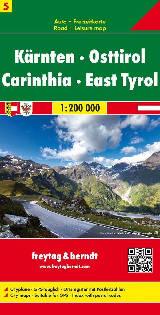 Österreich 05 Kärnten - Osttirol 1 : 200 000 als Buch