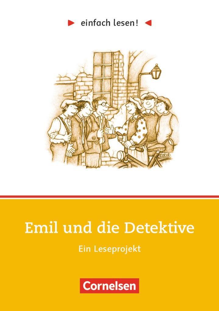 einfach lesen! Emil und die Detektive. Aufgaben und Übungen als Buch