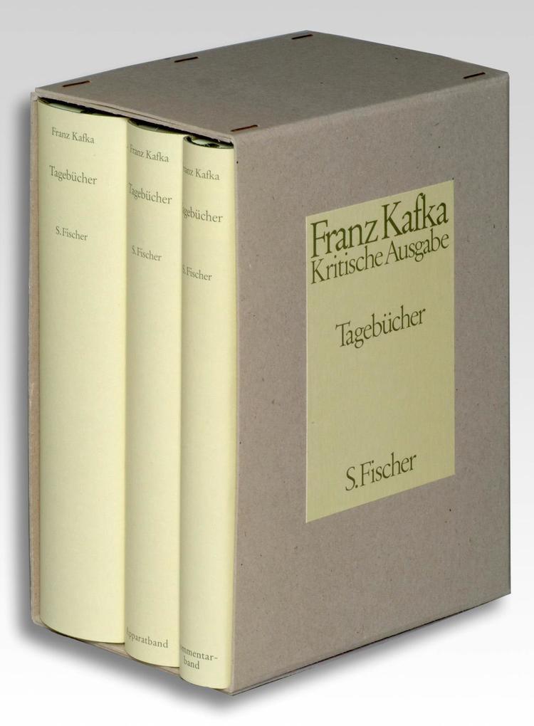 Tagebücher. Kritische Ausgabe. Textband / Apparatband / Kommentarband als Buch